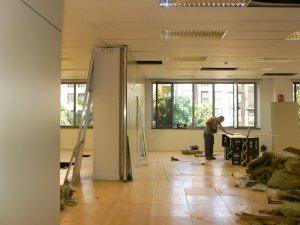 oficina NIIT TECHNOLOGIES reformas interiores HOGAR ARQUITECTURA