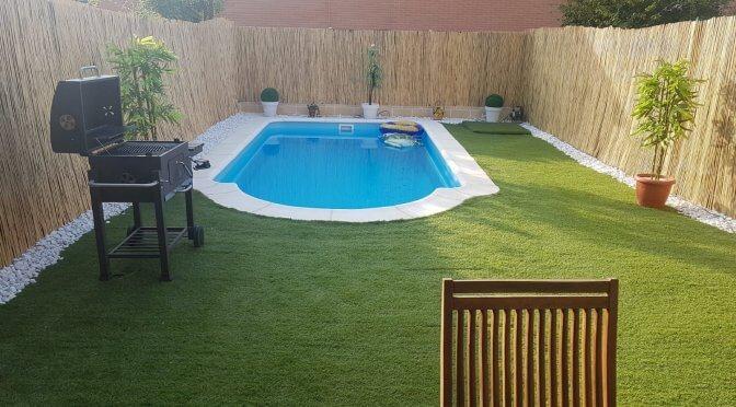#proyecto de #piscina prefabricada por @HogarArquitectura