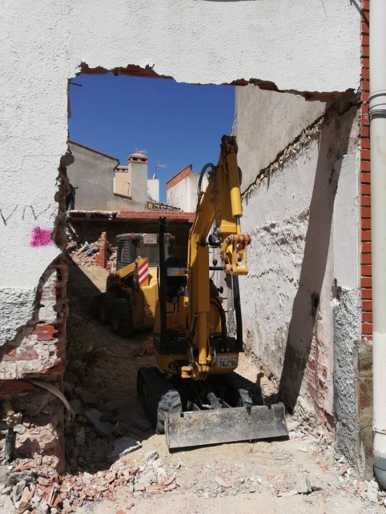 proyectos de derribos HogarArquitectura